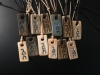 Image of God (Yahweh) pendants on leather straps with a description of how this Hebrew name mirrors human beings (all of whom are greatly treasured) $20